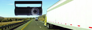 MiX Vision, from MiX Telematics, is an in-cab monitoring solution that helps trucking fleet managers improve safety.