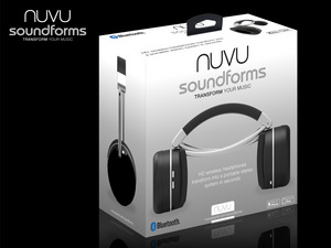 headphones, nuvu, speakers, wireless, gadget, 1800pr