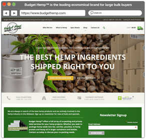 Budget Hemp(TM) is the leading economical hemp brand for large bulk buyers.