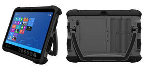 Rugged mobile tablet for industry