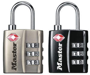 Master Lock 4680DNKL and 4680DBLK Luggage Locks