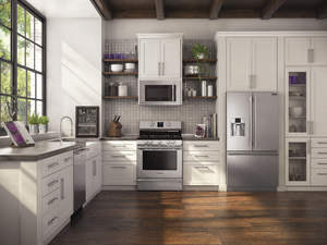 Beautiful updated kitchen with new appliances