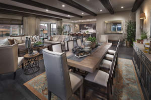 Brookfield Residential's designer-decorated Liberty model home will compete for Best Interior Design in the 2015 Building Industry Association of San Diego Icon Awards on September 19.