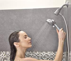 Magnetix(TM) handheld showers are the first Moen Canada products to include magnetic docking, which allows for easy release and securely snaps back into place -- even when your eyes are closed.