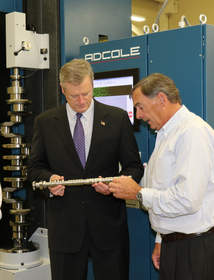 Governor Baker Visits Adcole Corporation
