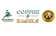 Caribou Coffee and Einstein Bros. Bagels