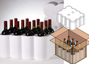 ACH Foam Technologies' universal wine shippers provide increased protection and temperature control.