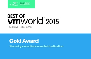 HyTrust wins Best of VMworld 2015, Gold Award for Security, Compliance and Virtualization