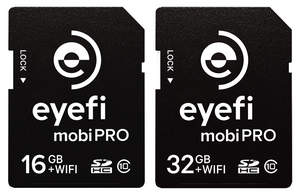 Eyefi Mobi Pro 16GB + 32GB  product photo