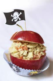 Apple-Tuna Treasure Chest