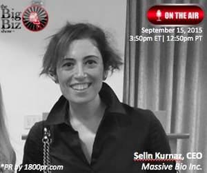 CEO, Selin Kurnaz of Massive Bio, Inc.