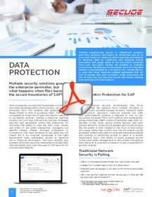 halocore, secude, sap security, sap data protection, securing sap data exports