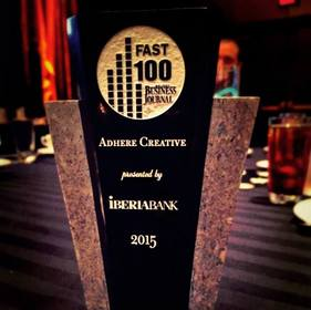 Adhere Fast 100 Award
