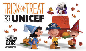 Charlie Brown, Snoopy and the Rest of 'The Peanuts Movie' Gang Encourage Kids to Trick-or-Treat for UNICEF