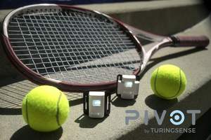 TuringSense's PIVOT, the most advanced wearable technology for tennis today.
