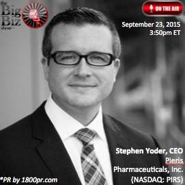 Stephen S. Yoder CEO of Pieris Pharmaceuticals, Inc.
