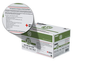 Cartons of Boise® X-9® multi-purpose copy paper include instructions to reuse the box as an emergency preparedness kit.