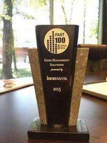 Effex Fast 100 Award