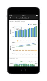 Klipfolio Dashboards for iPhone