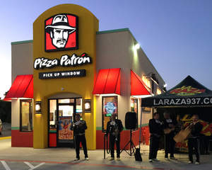 Pizza Patron grand opening celebration