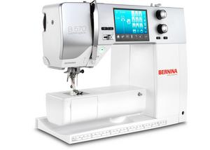 The BERNINA 570 Quilter's Edition.