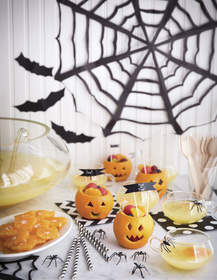 Spooktacular Fruit Cups