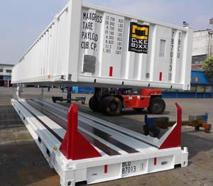 CakeBoxx TrusDek ShortBoxx CustomBoxx 45-foot intermodal shipping container