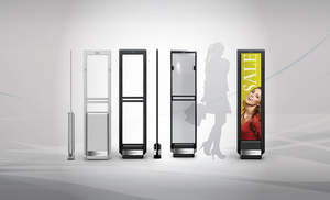 Synergy Series' sleek design complements any retail environment.