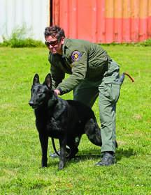 Senior Deputy Sheriff Danielle Delpit and K-9 partner Dano