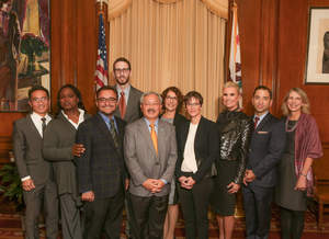 Mayor Lee announces new partnership with MAC AIDS Fund in San Francisco's aim to be first city to get to zero in HIV/AIDS battle   (Todd Rafalovich Photography)