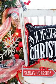pillow, home decor, Christmas decorations, seasonal, interior design