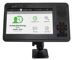 fleet telematics, in-cab display