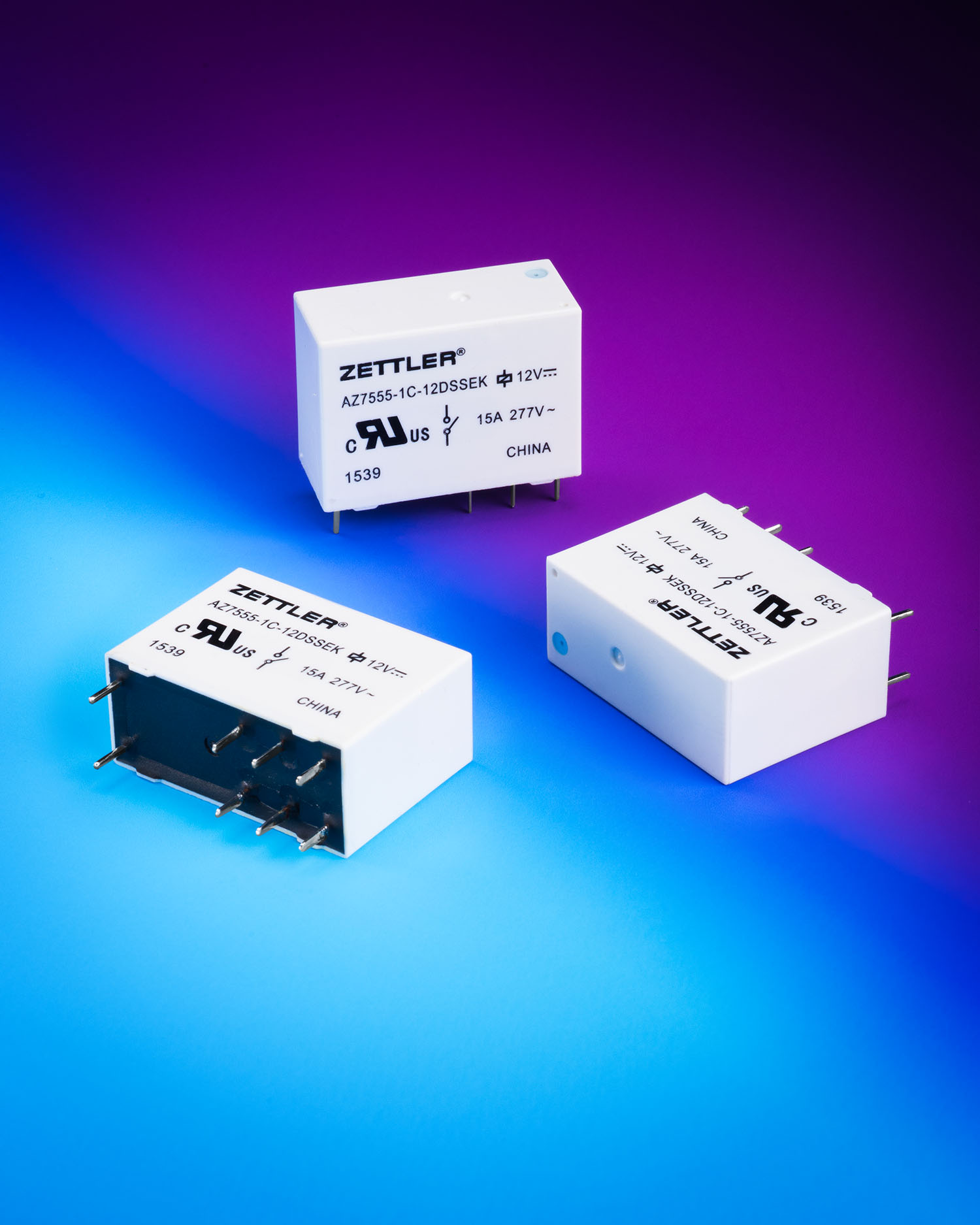 American Zettler Miniature Power Relays Reduce Energy Consumption Relay Latching Az7555 Consume One Sixth The Of Conventional 5 Mm Pin General Purpose And Cost Considerably Less Than Equivalent