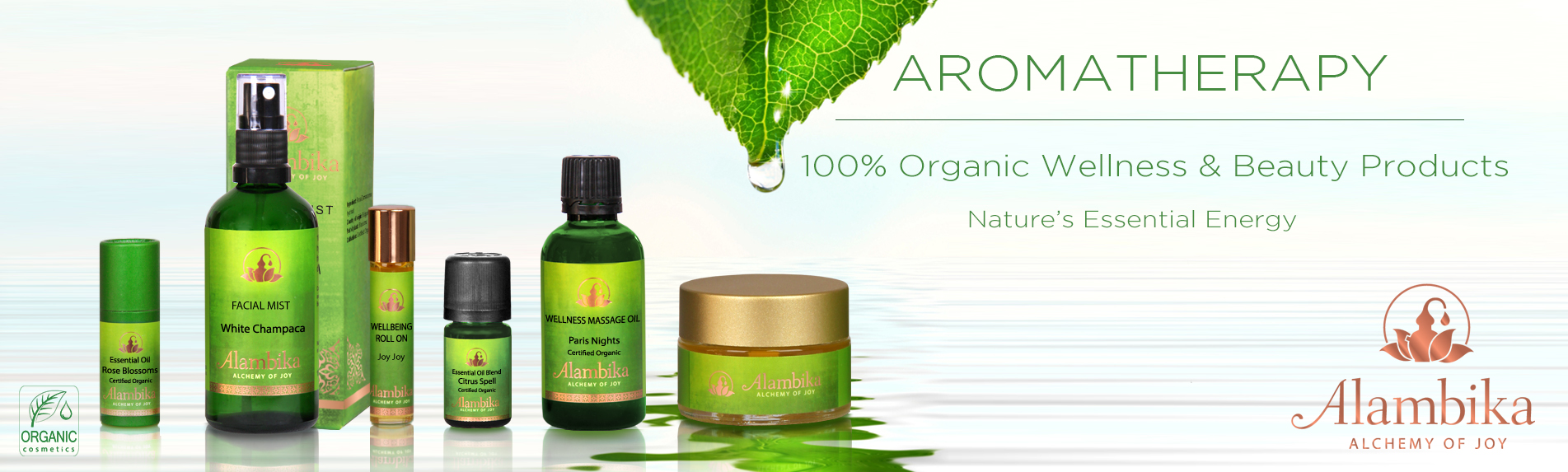 Alambika USA Launches Luxury Line of 100% Pure & Certified Organic