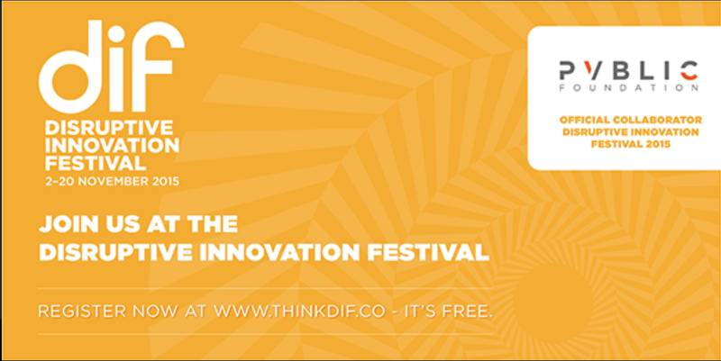 Disruptive Innovation Festival 2015 Grand Finale Registration Opens