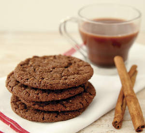 Hot Chocolate Crunch Cookies