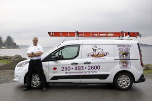 Kelly Comeau, Dryer Vent Wizard franchisee