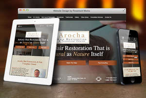 Responsive Website Announced for Hair Loss Surgeon in Houston