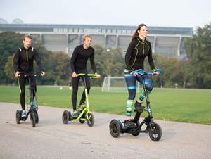The Me-Mover FIT is the new generation of premium fitness device to accelerate the healthy living trend and enhance urban mobility in Asia