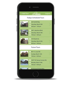ZipTours mobile app