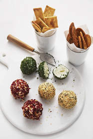 Savory Mini Cheese Balls