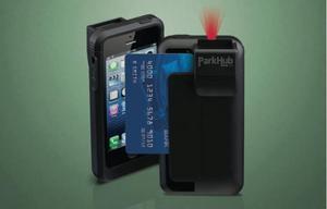 ParkHub PRIME handheld device