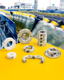 Stafford FDA- and USDA-approved Shaft Collars & couplings