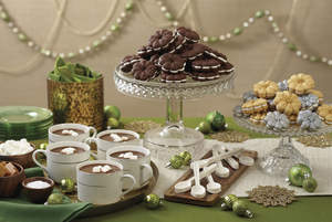 Holiday cookies and other desserts