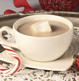 Gourmet Peppermint Hot Cocoa
