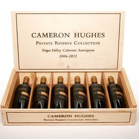"Cameron Hughes Wine releases the Cameron Hughes Private Reserve Collection, a six-vintage vertical of Napa Valley ""Cult"" Cabernet Sauvignon. A once-in-a-lifetime opportunity to enjoy an instant library vertical of world-class Cabernets, the collection contains one 750 mL bottle each of the 2006, 2007, 2008, 2009, 2010, 2011 vintages available at www.chwine.com for $399 (a $1,500-$1,800 value)."