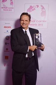 Paul Scott, President of C&W Networks, at the Global Carrier Awards 2015