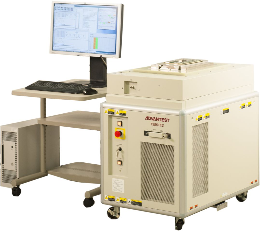 Semiconductor Test Equipment : Advantest s new high speed t semiconductor memory
