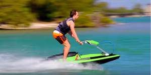 BomBoard's Wave Bomber Watercraft Makes a Big Splash on Indiegogo; New Patented, High-Powered Modula