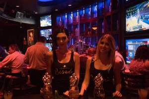 Besado Tequila Representatives at Blue Martini Lounge
